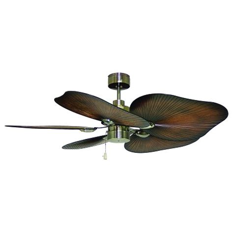 outdoor ceiling fan blades craftmade caribbean brass outdoor 52in 5 blade indoor