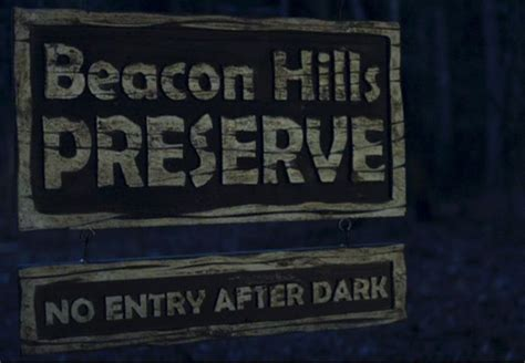beacon hills preserve  night audio atmosphere