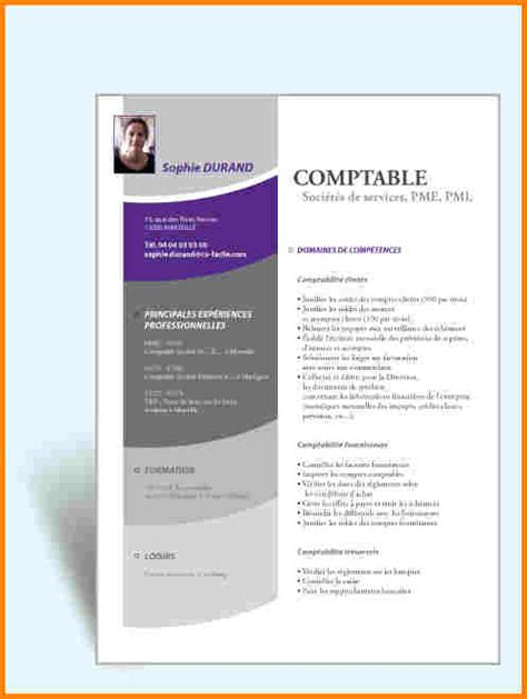 Cv Pour Word by Cv Word Comptable