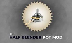 Half Blender Pot Modification