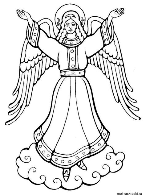angel coloring pages   print angel coloring pages