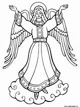 Coloring Pages Angel Angels Print Printable Recommended Kerra sketch template