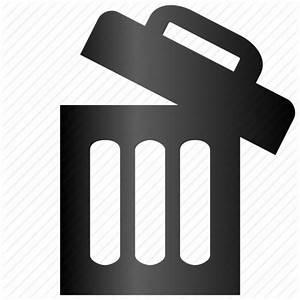 Bin, delete, empty, full, garbage, recycle, remove ...