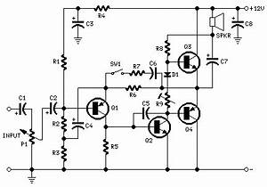 mini box 2w amplifier red page33 With 2n3906 2n3904 transistor q1 of the headset amplifier circuit amplifies
