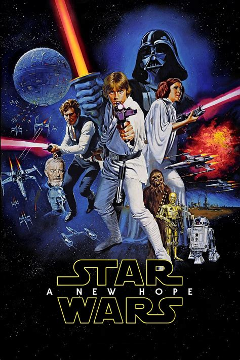 Star Wars Episode IV: A New Hope Movie Poster - ID: 350096 ...