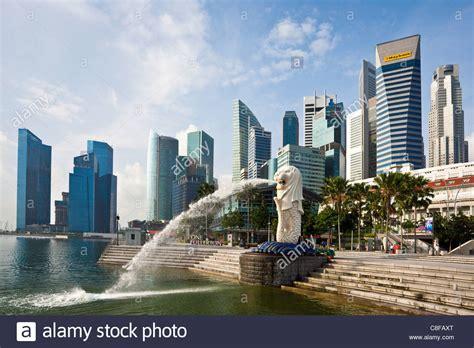 Singapore Asia Merlion Landmark Lion Mermaid