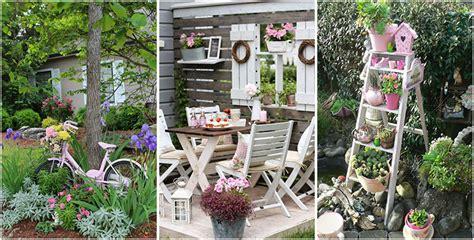 arredamento idee originali giardino shabby chic 30 idee di arredamento originali