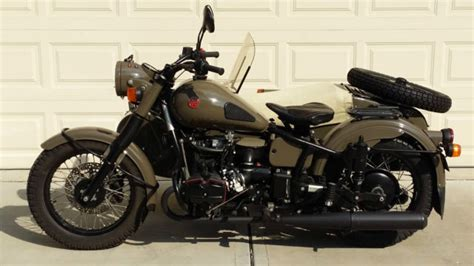 Ural M70 Image by 2012 Ural Retro M70 Sidecar 70th Anniversary Limited
