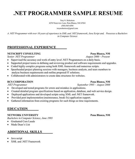 Bachelor Of Computer Science Resume Exle by The World S Catalog Of Ideas