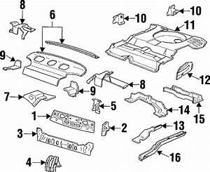 Ford Taurus Strainer Bracket  Sedan  Floor  Body  Rear