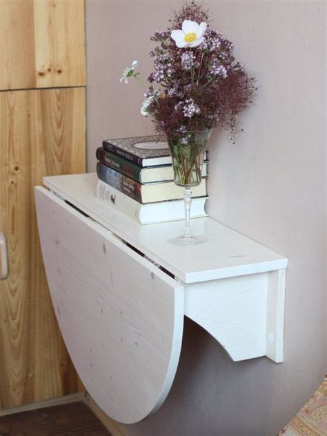 Wall mounted desk Wooden wall mounted drop leaf by