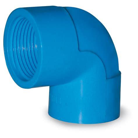 blue  house upvc fittings threaded elbow kikshardware