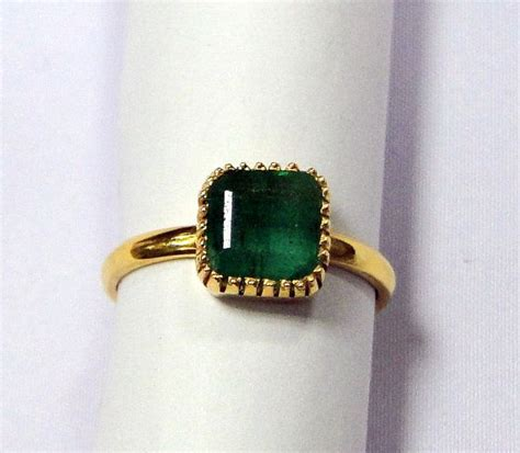 360 best shop vintage jewelry 7 best images about emerald left ring on