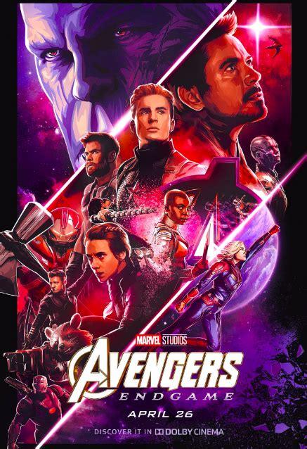 avengers endgame posters hype  marvels mega