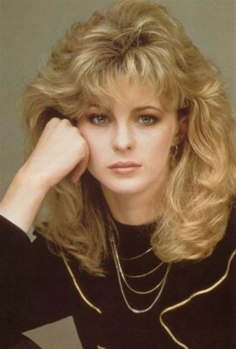 70s And 80s Hairstyles by Vintage Everyday 1980s The Period Of Rock