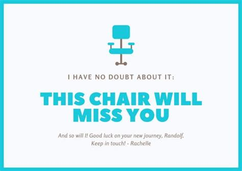 white officemate farewell card templates  canva