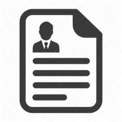 agreement contract cv document paper resume icon
