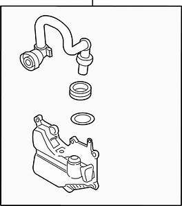 Ford Escape Valve  Separator  Assembly