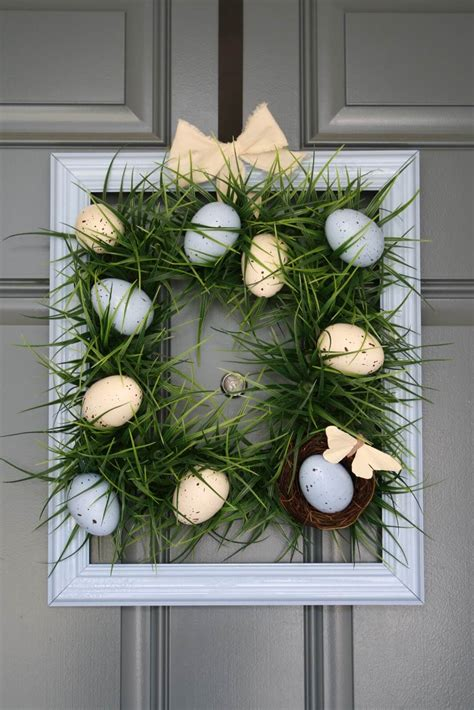 easter door wreaths diy easter decorations 17 ideas how to make a easter