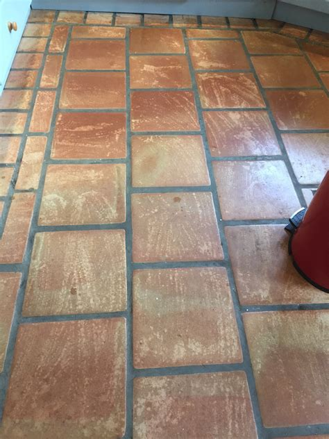 terracotta kitchen tile cleaning and resealing terracotta kitchen tiles in 2698
