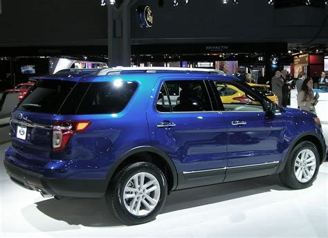 2013 Ford Explorer At The 2013 New York Auto Show