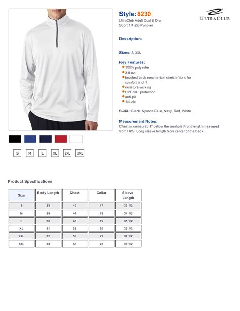 30876 Murchies Coupon Code by Ultraclub 8230 Ultraclub Cool Sport 1 4 Zip