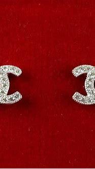 Vintage Sterling Silver Diamond Encrusted Chanel Log ...