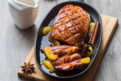 recettes de cuisine corse magret de canard laqué à la clémentine corse aux epices