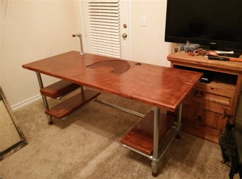 how to make your own desk build your own diy computer gaming desk