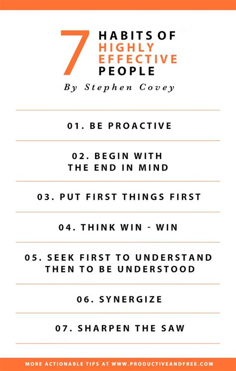 takeaways    habits  highly effective people