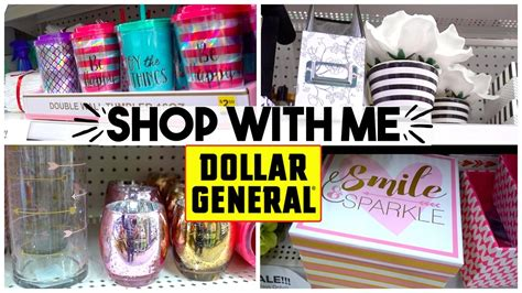 Shop With Me  Dollar General  Home Decor + Brand Names