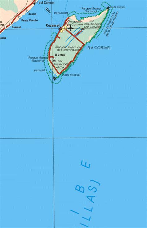 playa del carmen quintana roo mapa ideasyouxyz