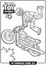 Toy Story Coloring Pages Motorcycle Printables Getcoloringpages sketch template