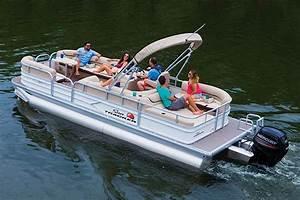 Sun Tracker Pontoon Boats 24 DLX Party Barge | Waylen Bay ...