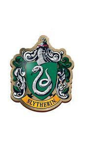 HARRY POTTER SLYTHERIN ENAMEL PIN BADGE BUTTON HOUSE CREST ...