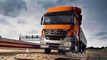 Truck Benz Mercedes Wallpapers Trucks Country Iran