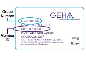 Below are some sample policy number on insurance card with customer support numbers for the top 10 health insurance companies in the usa c. Account Creation   GEHA Connection Dental Federal