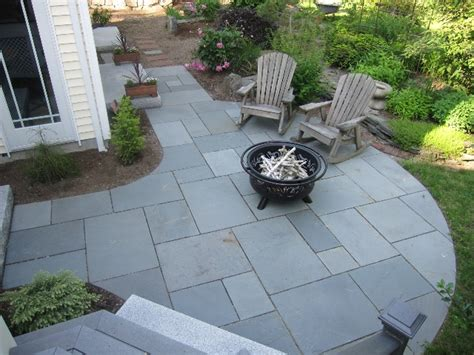walkway and patio design in ma path landscaping