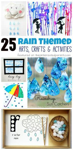 rain preschool crafts 25 themed arts crafts amp activities the pinterested 171