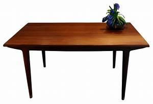 Table A Manger Vintage : table vintage scandinave en teck johannes andersen ann es 60 design market ~ Teatrodelosmanantiales.com Idées de Décoration