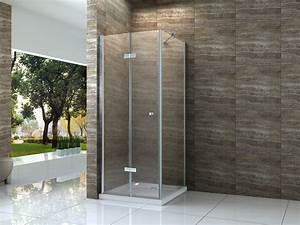 Falttür Mit Glas : helto 90 x 75 cm glas dusche duschkabine duschwand duschabtrennung eckeinstieg ebay ~ Sanjose-hotels-ca.com Haus und Dekorationen