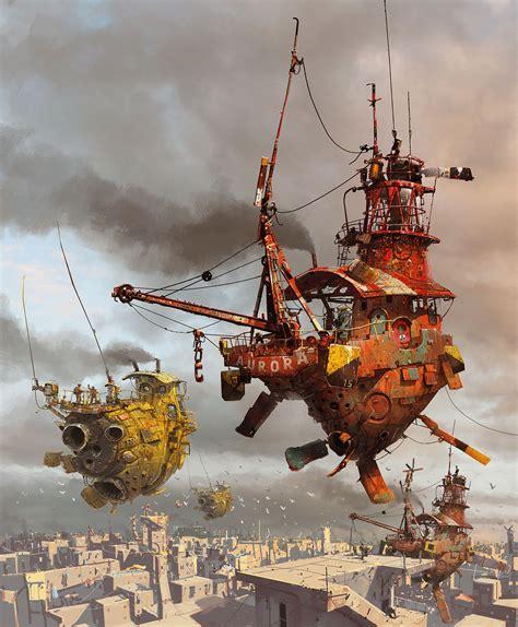 The Sci Fi Artist Ian Mcque Science Fiction Art By Ian Mcque