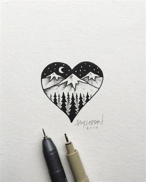 Drawn Nature Pinterest Pencil Color