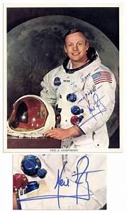 Lot Detail - Apollo 11 Signed Photos -- Three Individual 8 ...