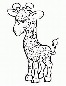 Baby Giraffe Coloring Pages - AZ Coloring Pages