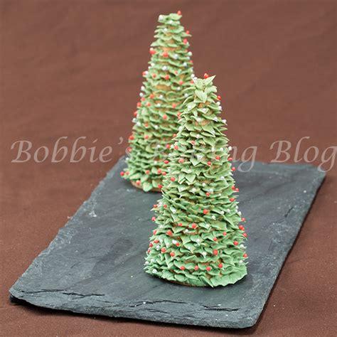 sugar christmas tree bobbies baking blog