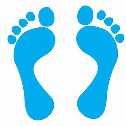 Footprints Clipart Footprint Digital Icon Clip Feet
