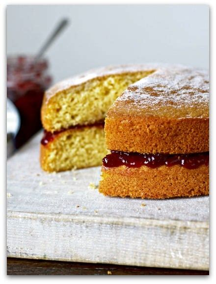 I used the sponge cake recipe for my lemon swiss rolls and it turned out amazing. Mary Berry's All-in-one Victoria Sandwich Recipe - Stressy Mummy