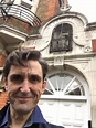 """Stephen McGann on Twitter: """"The real McCoy - filming ..."""