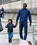 Idris Elba holds hands with son Winston exploring Paris ...